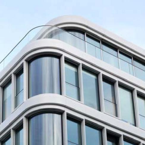 HD Wahl beschichtete das Baltic Haus in Hamburg mit der Nasslackierung DURAFLON® Phönixweiß.