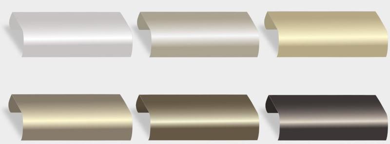 Die Bandbreite der Gestaltungsmöglichkeiten mit Farben und Effekten wie etwa Metallic oder Glimmer ist für Sie als Planer und Anwender nahezu unbegrenzt.