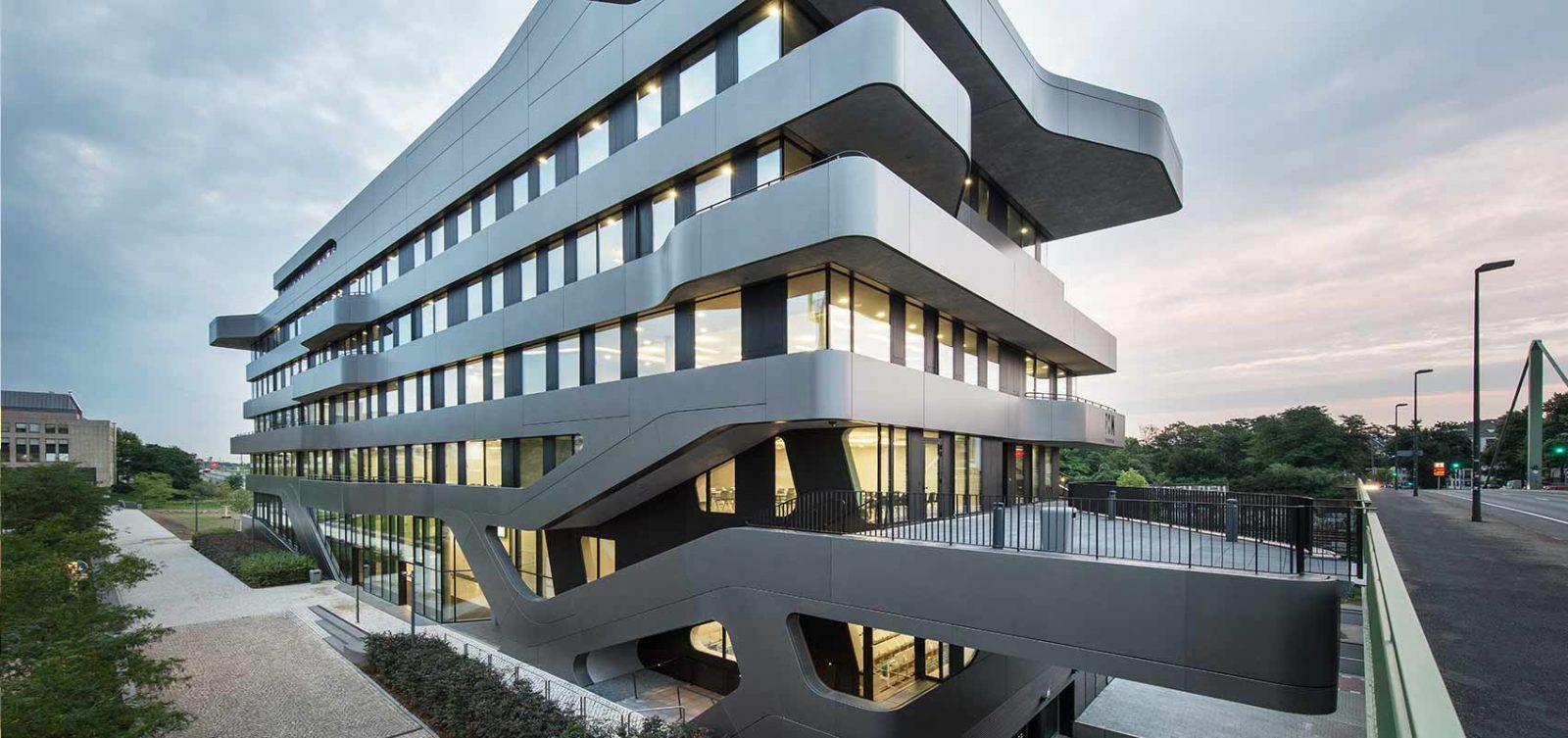 Das Gebäude der FOM Hochschule