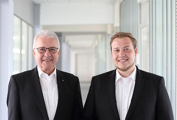Hans Dieter Wahl, Geschäftsleitung und Christoph Wahl Assistenz der Geschäftsleitung