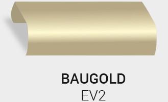 Eloxierung / Anodisierung. Eloxalfarbe Bau Gold EV2