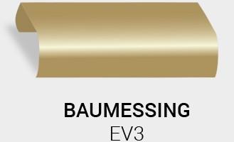 Eloxierung / Anodisierung. Eloxalfarbe Bau Messing EV3