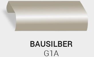 Eloxierung / Anodisierung. Eloxalfarbe Bau Silber G1A