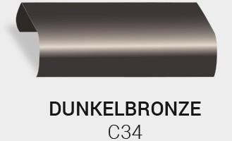Eloxierung / Anodisierung. Eloxalfarbe Dunkles Bronze C34