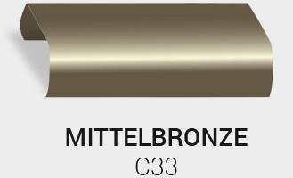Eloxierung / Anodisierung. Eloxalfarbe Mittel Bronze C33
