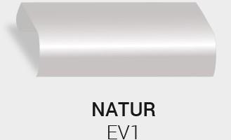 Eloxierung / Anodisierung. Eloxalfarbe Natur EV1