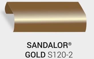 Nasslackierung Sandalor. Gold S120-2