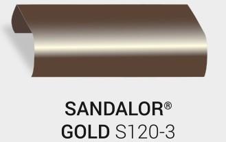 Nasslackierung Sandalor. Gold S120-3