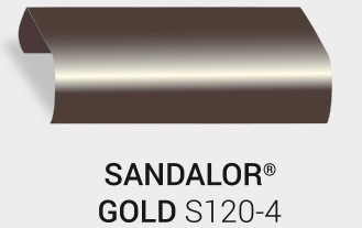 Nasslackierung Sandalor. Gold S120-4