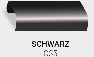 Eloxierung / Anodisierung. Eloxalfarbe Schwarz C35