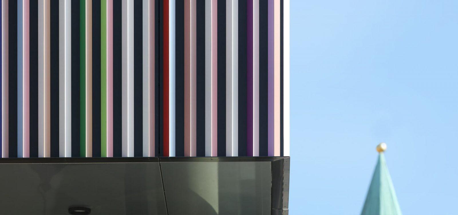 Fassade, die von HD Wahl beschichtet wurde