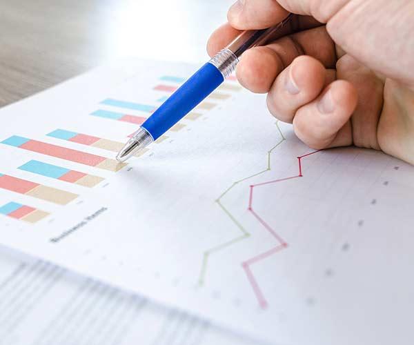 Auswertung der erhobenen Daten der Tests der Qualitätssicherung.