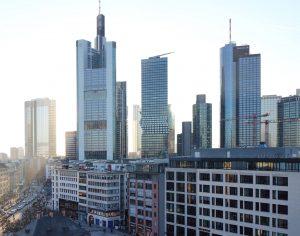 Skyline mit Omniturm in Frankfurt am Main