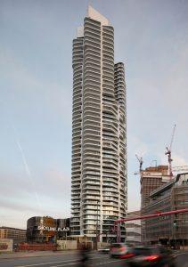 Nominiert für den Internationalen Hochhaus Preis: Grand Tower in Frankfurt am Main