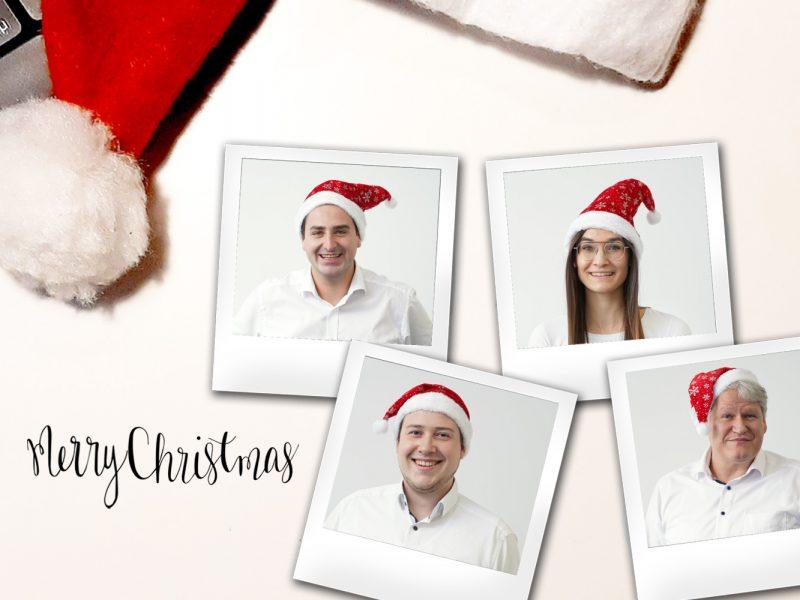 Ein fröhlicher Weihnachtsgruß aus dem Hause HD Wahl!