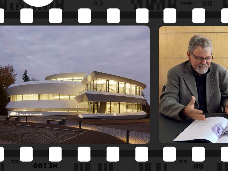Imagebild zum Film zur Entstehungsgeschichte Haus der Astronomie.